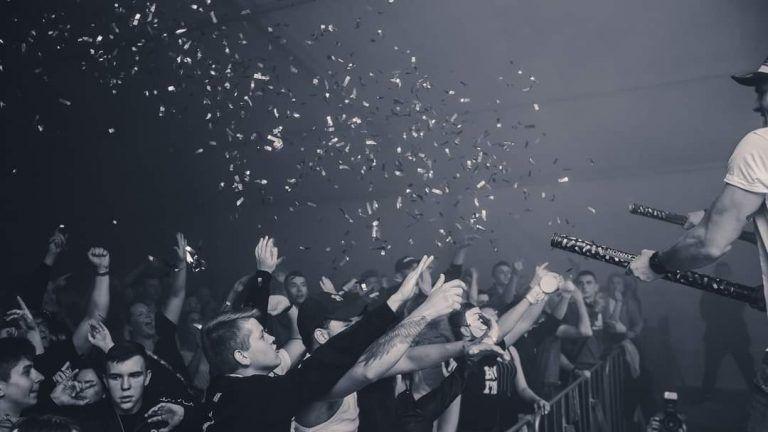 koncert disco polo z konfetti