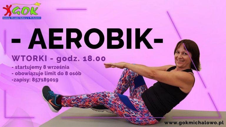plakat aerobik