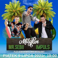 Siemianowka Party2 (09.07.2021r) Plakat